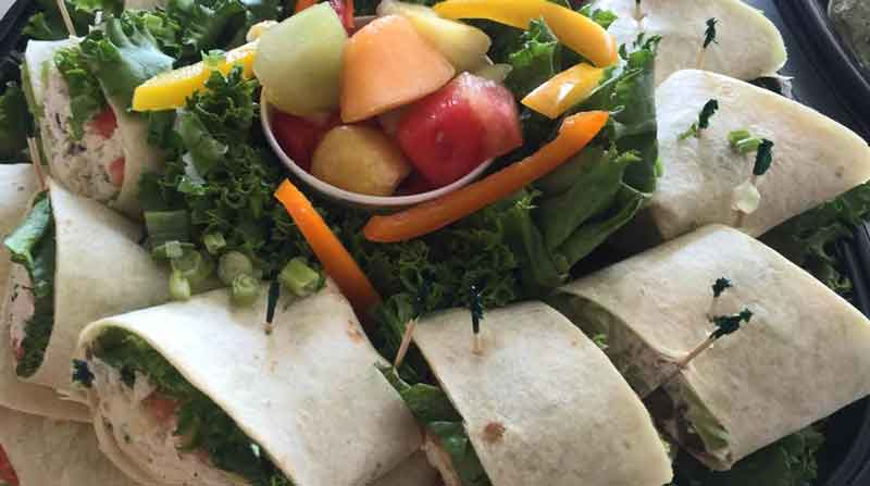 party tray sandwich wraps